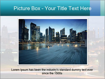 Evening city PowerPoint Templates - Slide 16