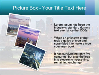 Evening city PowerPoint Templates - Slide 17
