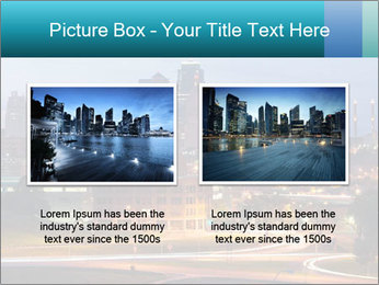 Evening city PowerPoint Templates - Slide 18