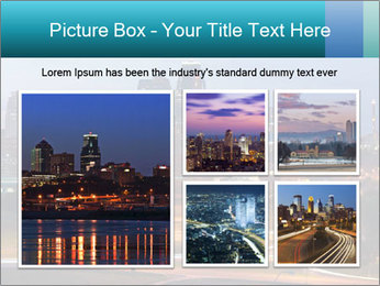 Evening city PowerPoint Templates - Slide 19