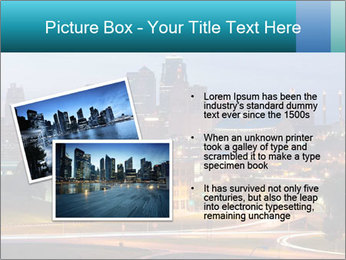 Evening city PowerPoint Templates - Slide 20