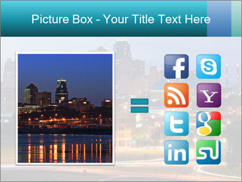 Evening city PowerPoint Templates - Slide 21