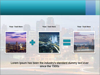 Evening city PowerPoint Templates - Slide 22
