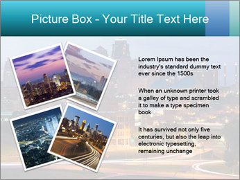 Evening city PowerPoint Templates - Slide 23