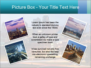 Evening city PowerPoint Templates - Slide 24