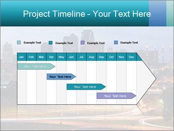Evening city PowerPoint Template - Slide 25
