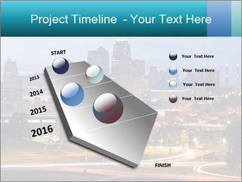 Evening city PowerPoint Template - Slide 26