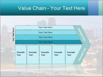 Evening city PowerPoint Template - Slide 27