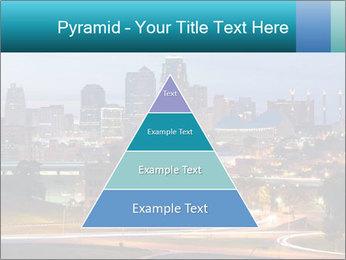 Evening city PowerPoint Template - Slide 30