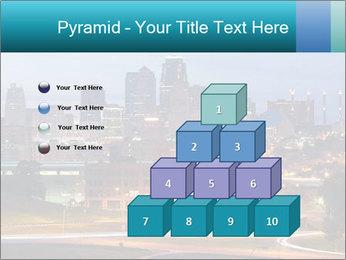 Evening city PowerPoint Template - Slide 31