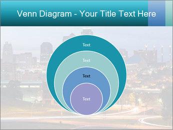 Evening city PowerPoint Template - Slide 34