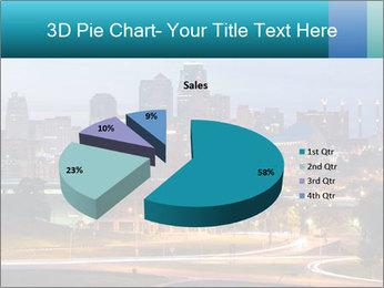 Evening city PowerPoint Template - Slide 35