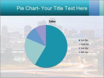 Evening city PowerPoint Template - Slide 36