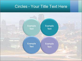 Evening city PowerPoint Template - Slide 38