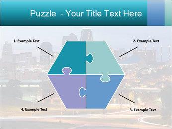 Evening city PowerPoint Template - Slide 40