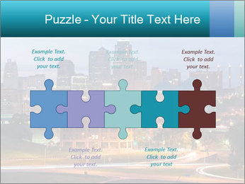 Evening city PowerPoint Templates - Slide 41