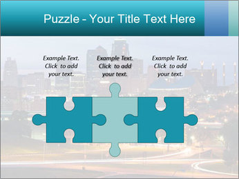 Evening city PowerPoint Templates - Slide 42