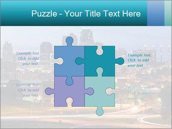 Evening city PowerPoint Template - Slide 43