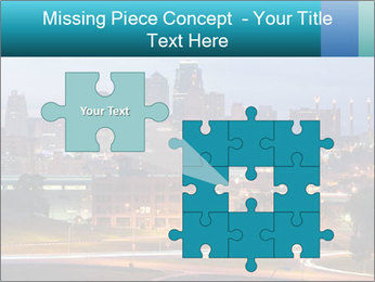 Evening city PowerPoint Template - Slide 45