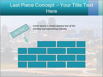 Evening city PowerPoint Template - Slide 46
