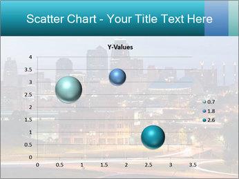 Evening city PowerPoint Template - Slide 49