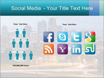 Evening city PowerPoint Template - Slide 5