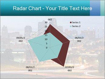 Evening city PowerPoint Template - Slide 51