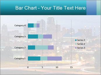 Evening city PowerPoint Template - Slide 52