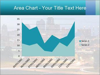 Evening city PowerPoint Template - Slide 53