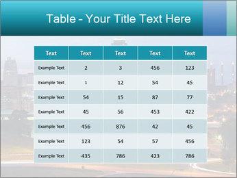 Evening city PowerPoint Template - Slide 55
