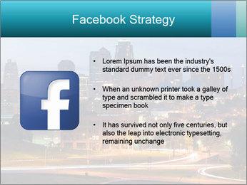 Evening city PowerPoint Template - Slide 6