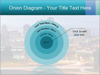 Evening city PowerPoint Template - Slide 61