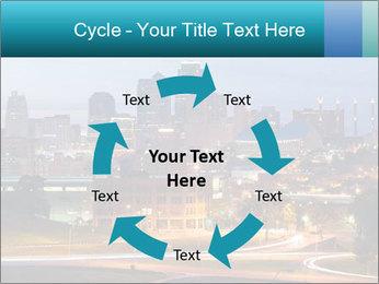 Evening city PowerPoint Template - Slide 62