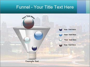 Evening city PowerPoint Template - Slide 63