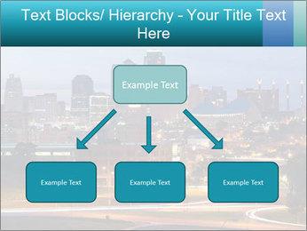 Evening city PowerPoint Template - Slide 69