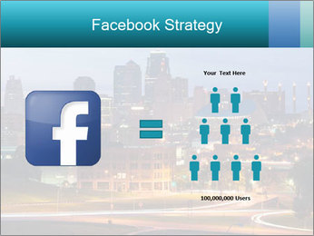 Evening city PowerPoint Template - Slide 7