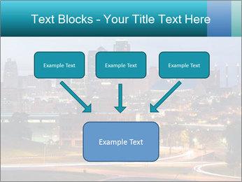 Evening city PowerPoint Template - Slide 70