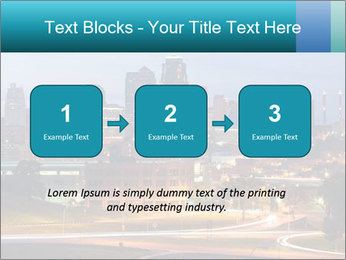 Evening city PowerPoint Templates - Slide 71