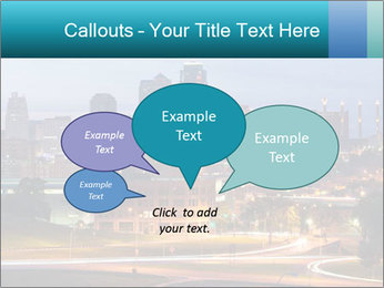 Evening city PowerPoint Templates - Slide 73