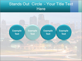 Evening city PowerPoint Templates - Slide 76