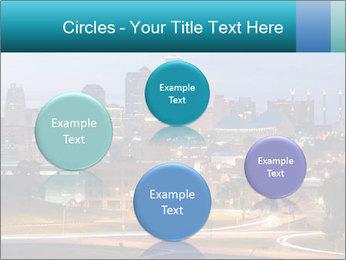 Evening city PowerPoint Template - Slide 77