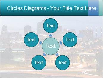 Evening city PowerPoint Template - Slide 78
