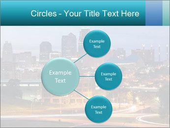 Evening city PowerPoint Template - Slide 79