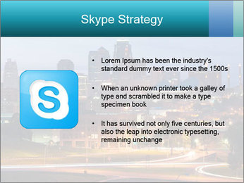 Evening city PowerPoint Templates - Slide 8