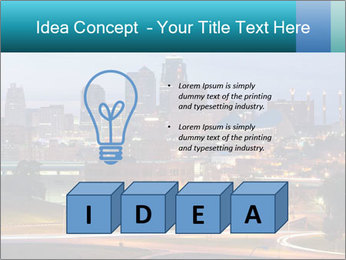 Evening city PowerPoint Templates - Slide 80
