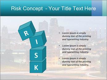 Evening city PowerPoint Template - Slide 81