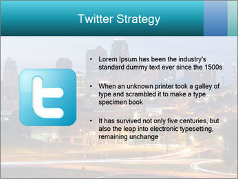 Evening city PowerPoint Templates - Slide 9