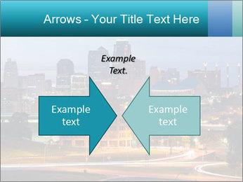 Evening city PowerPoint Template - Slide 90
