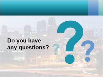 Evening city PowerPoint Template - Slide 96