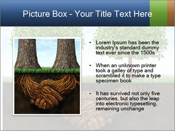 Two trees PowerPoint Template - Slide 13